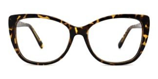 A-2005 Wenona Rectangle tortoiseshell glasses