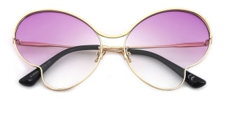 A18908 Betsy Butterfly purple glasses