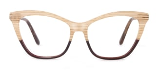 B2926 melissa Cateye yellow glasses