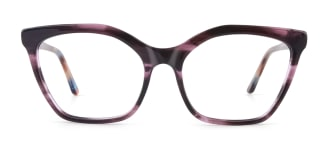 C1077 monica Cateye floral glasses