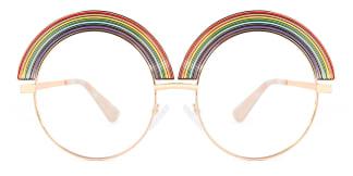 C108 Lucy Round multicolor glasses