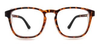 DW18178 Judi Rectangle tortoiseshell glasses