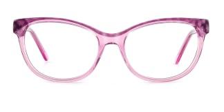 F1829 opa Cateye purple glasses