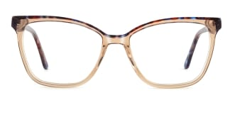 F1960 Gail Cateye brown glasses