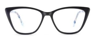 F2163 polly Cateye blue glasses