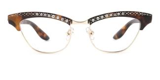 G0153 Amabel Cateye tortoiseshell glasses