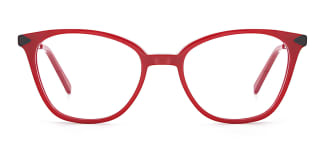 H0536 SUNNY Rectangle red glasses