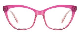 HL0048 Hazel Cateye pink glasses