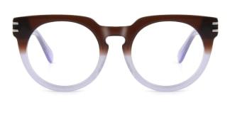 K9100 Darleane Cateye brown glasses