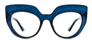 K9620 Sasha Cateye blue glasses