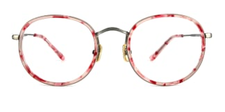 L-951 Alexis Round pink glasses