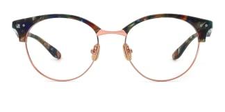 L7002 Flectie Oval floral glasses