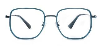 M2888 Althea Geometric green glasses