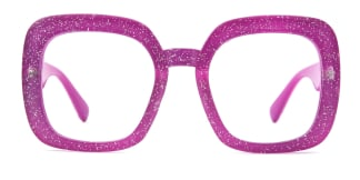 M318 Inell Rectangle purple glasses