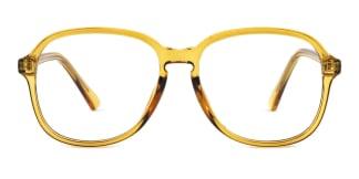 OF8852 Alfreda Rectangle yellow glasses
