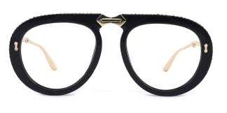 OF8870 Judith Aviator black glasses