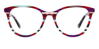 PY3019 Alvina Oval purple glasses