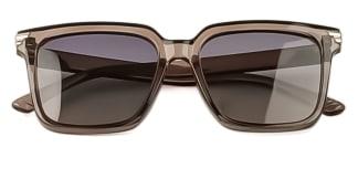 R5055 Leola Rectangle brown glasses