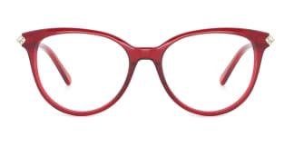 RT-3001 Pandora Oval red glasses