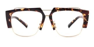 S31006 Hewitt Aviator tortoiseshell glasses