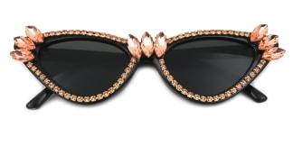 UV400 Keesha Cateye pink glasses