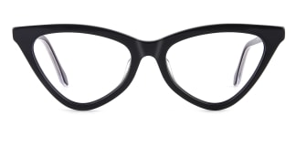 X52056 zoey Cateye black glasses