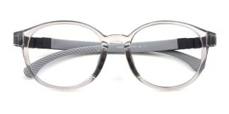 Y8803 Hermione Oval grey glasses