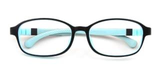Y8815 Iria Oval blue glasses