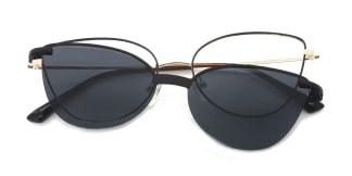 YC33052 rabia Cateye brown glasses