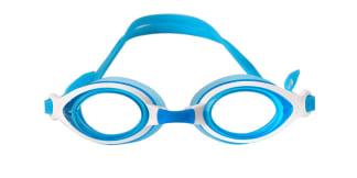 YJ11 Esthe Oval blue glasses