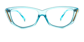 Z3390 Finola Cateye blue glasses