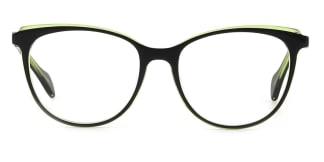 Z506 Quanda Oval green glasses