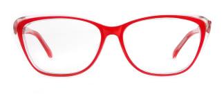 ZY701 Amie Cateye red glasses